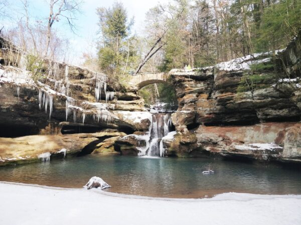 5 Tips for Winter Hiking in The Hocking Hills